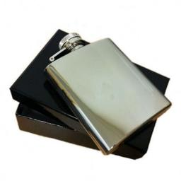PHOTO Engravable Hip Flask
