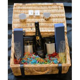 Personalised Wedding Hamper Gift Set.