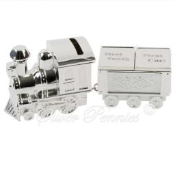 Train With Tooth Curl Money Box