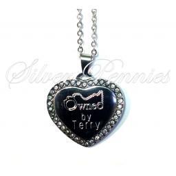 Gem Heart Submissive Necklace