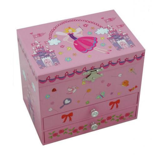 Fairy Musical Jewellery Box