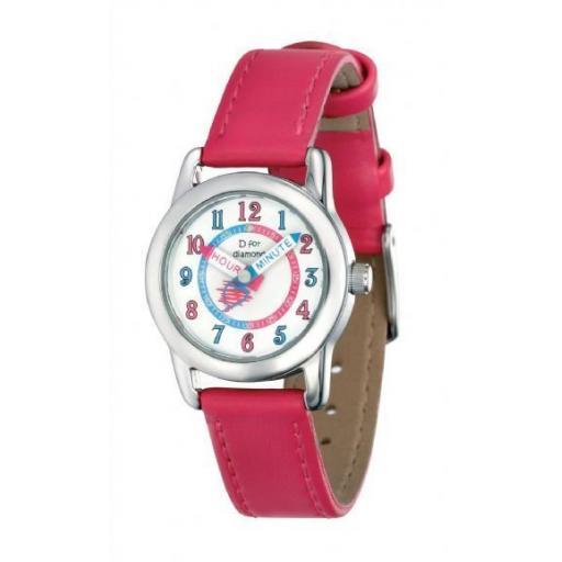 D For Diamond Girls Watch
