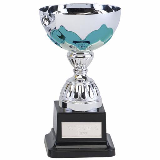 Eagle Cup Aqua Size 2