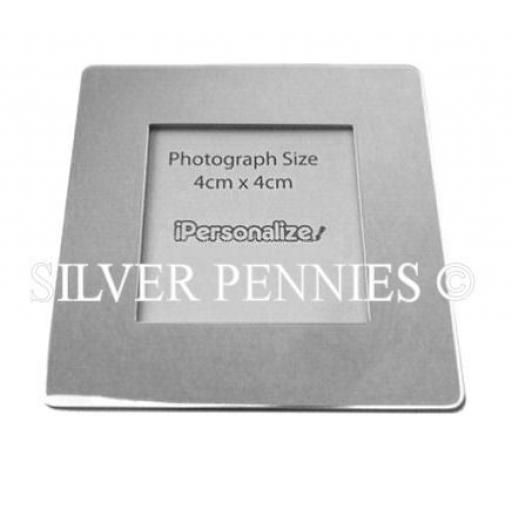 PERSONALISED Engravable Fridge Magnet Photo Frame