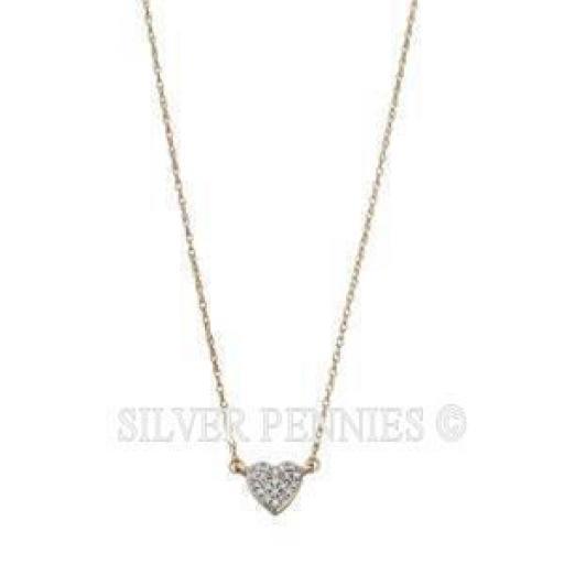 9ct Gold Diamond Heart
