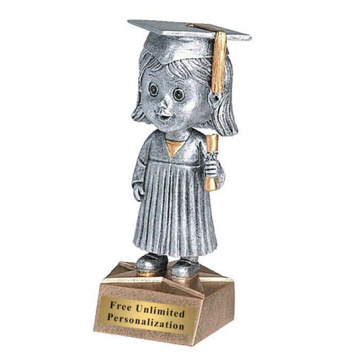 Graduation Trophy Girl