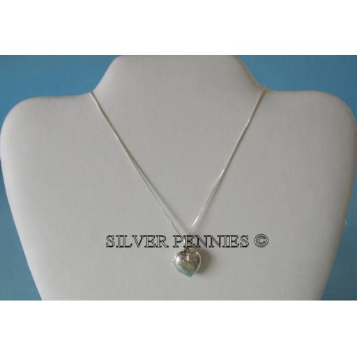 925 Sterling Silver Opening Heart Locket