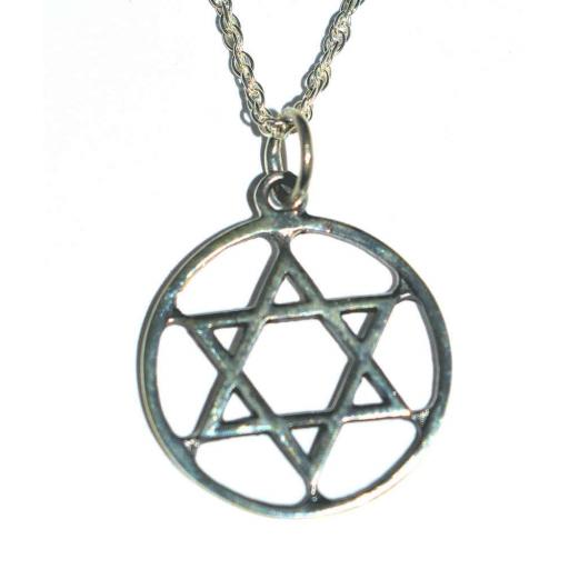 925 Sterling Silver Star Of David