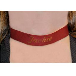 Personalised Ultrasoft Leather Collar
