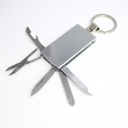 Engraved Personalised Multi Tool Keyring