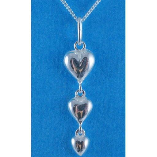 Tripple heart necklace