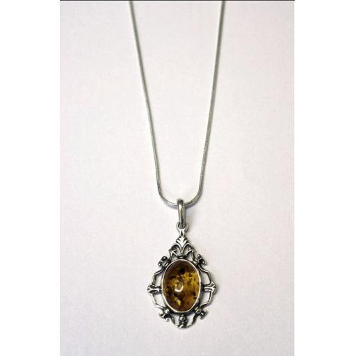 Timeless Classic Amber Pendant Necklace.jpg