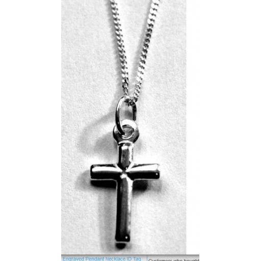 Sterling Silver Cross and Chain.jpg