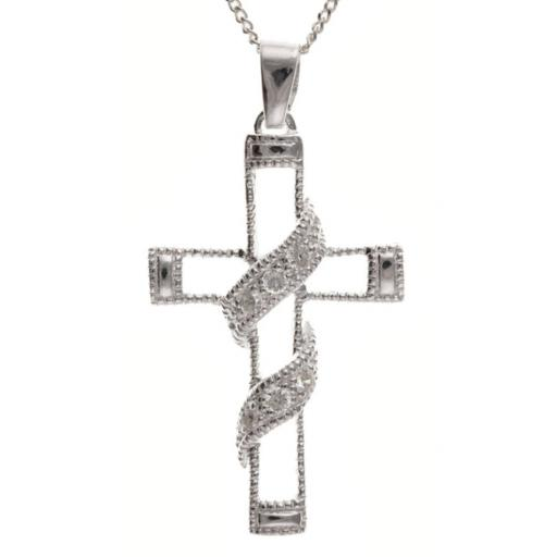 Fancy Cubic Zirconia Cross and Chain.jpg